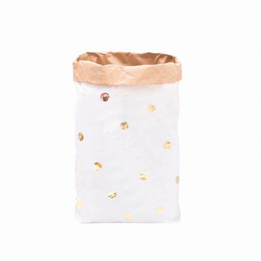 Paperbag Goldene Punkte