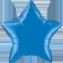 Folienballon Stern in Dunkelblau