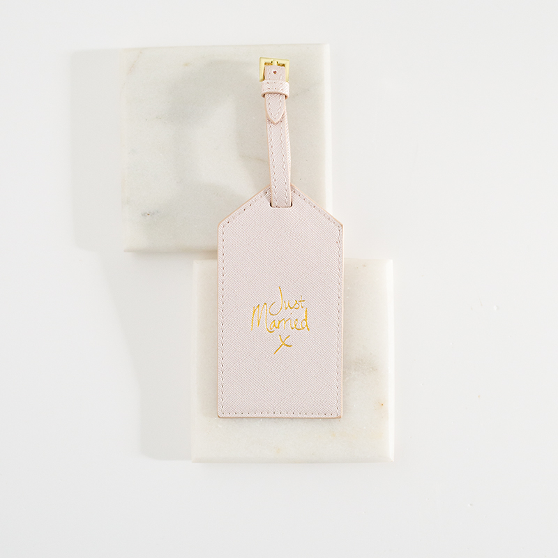 Luggage Tag Just Married