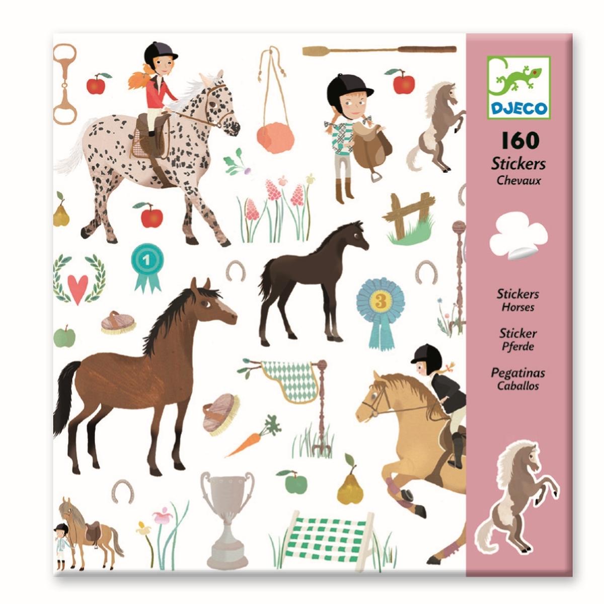 160 Pferde Sticker