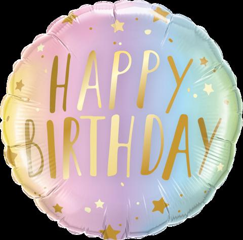 Happy Birthday Aquarell
