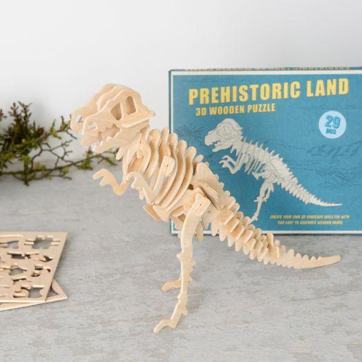 Tyrannosaurus 3D Holzpuzzle