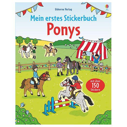 Mein erstes Stickerbuch: Ponys