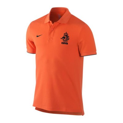 nike HOLLAND Polo Herren orange