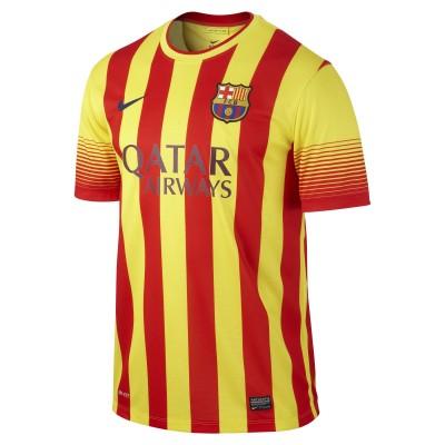 nike FC BARCELONA Trikot Away Herren 2013 / 2014