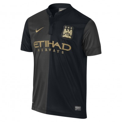 nike MANCHESTER CITY Trikot Away Kinder 2013 / 2014