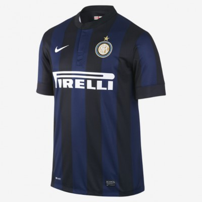 nike INTER MAILAND Trikot Home Kinder 2013 / 2014