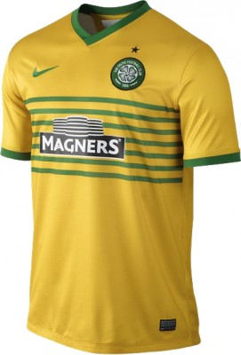 nike CELTIC GLASGOW Trikot Away Herren 2013 / 2014
