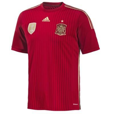 adidas SPANIEN Trikot Home Herren 2014 / 2015