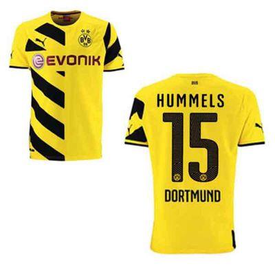 puma BVB  BORUSSIA DORTMUND Trikot Home Herren 2014 / 2015 - HUMMELS 15