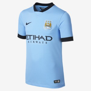 nike MANCHESTER CITY Trikot Home Kinder 2014 / 2015