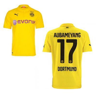 puma BVB BORUSSIA DORTMUND Trikot 3rd Herren 2014 / 2015 - AUBAMEYANG 17