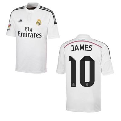 adidas REAL MADRID Trikot Home Herren 2014 / 2015 - JAMES 10