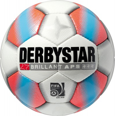 derbystar BRILLANT APS 5 weiß-orange-blau