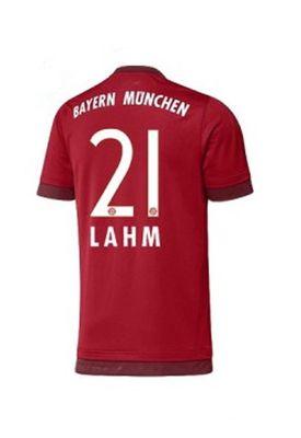 adidas FC BAYERN MÜNCHEN Trikot Home Kinder 2015 / 2016 - LAHM 21