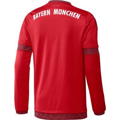 adidas FC BAYERN MÜNCHEN Trikot Home langarm Herren 2015 / 2016 – Bild 2