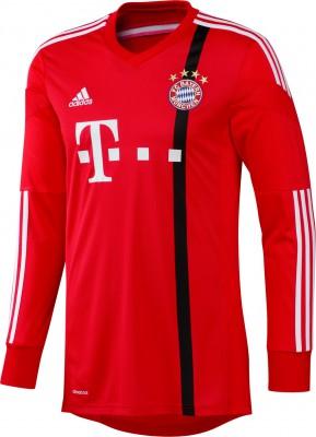 adidas FC BAYERN MÜNCHEN Trikot Torwart Herren rot 2014 / 2015