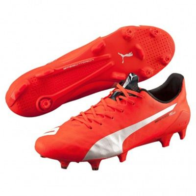 puma evoSPEED SL FG orange