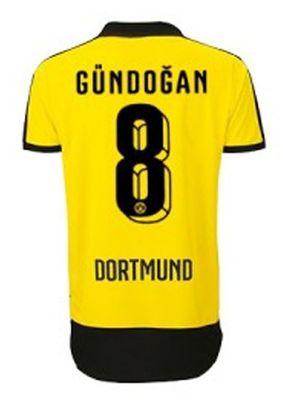 puma BVB BORUSSIA DORTMUND Trikot Home Herren 2015 / 2016 - GÜNDOGAN 8