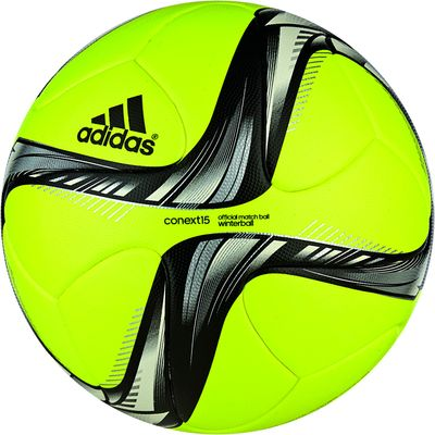 adidas CONEXT 15 OMB Winterspielball gelb