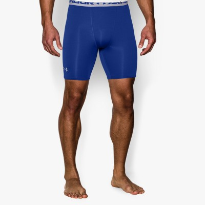 under armour COMPRESSION Short Heat Gear Herren blau