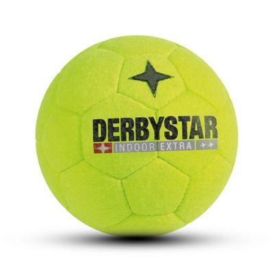 derbystar INDOOR EXTRA Hallenfussball Gr. 5 gelb