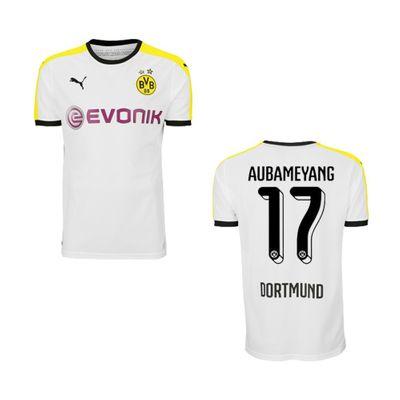 puma BVB Borussia Dortmund Trikot 3rd Kinder 2015 / 2016 - AUBAMEYANG 17