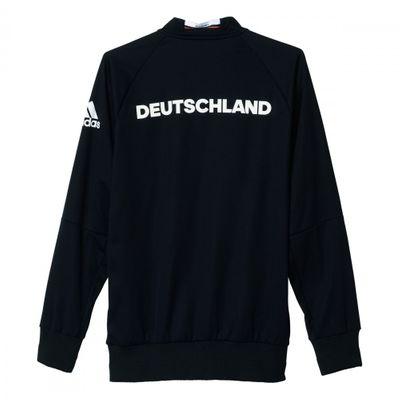 adidas DFB DEUTSCHLAND Anthem Jacke Herren schwarz EURO 2016  – Bild 2