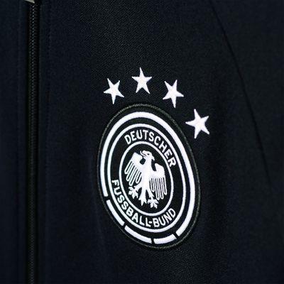 adidas DFB DEUTSCHLAND Anthem Jacke Herren schwarz EURO 2016  – Bild 3