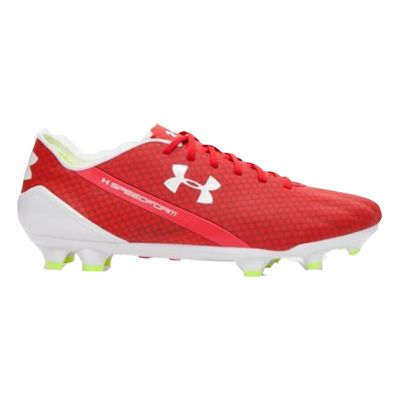 under armour SPEEDFORM CRM FG rot-weiß