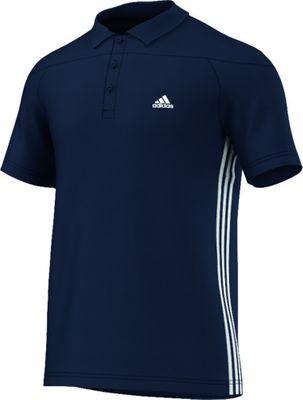 adidas CLIMA BASE Poloshirt Herren blau – Bild 1