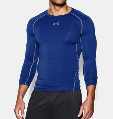 under armour COMPRESSION SHIRT langarm Herren blau