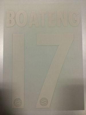 Original FC Bayern München Trikot-Flock 23cm - BOATENG 17