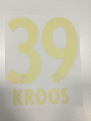 Original FC Bayern München Trikot-Flock 23cm - KROOS 39