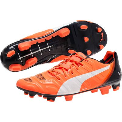 puma evoPOWER 1.2 FG orange-weiß