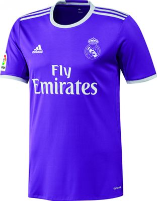 adidas REAL MADRID Trikot Away Kinder 2016 / 2017 – Bild 1
