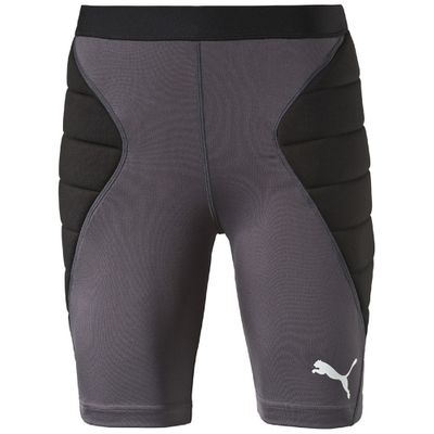 puma GK Tight Padded Torwart Hose Herren schwarz