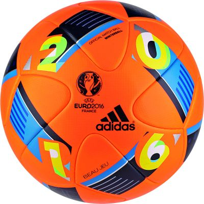 adidas BEAU JEU OMB Spielball EURO 2016 Winterball orange
