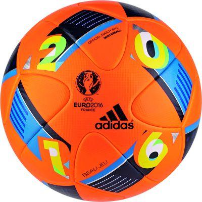 adidas BEAU JEU OMB Spielball EURO 2016 Winterball orange