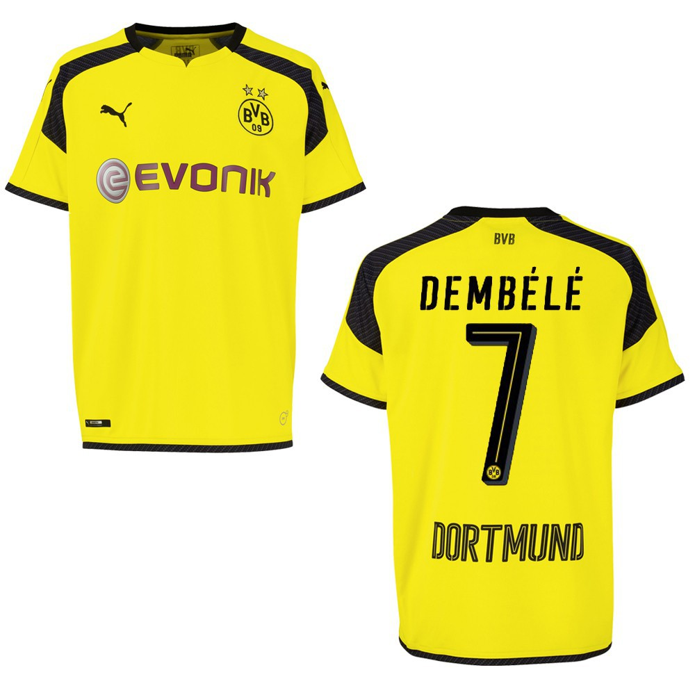 puma bvb borussia dortmund trikot 3rd kinder 2016 2017. Black Bedroom Furniture Sets. Home Design Ideas