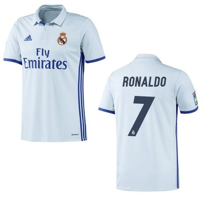 adidas REAL MADRID Trikot Home Kinder 2016 / 2017 - RONALDO 7 – Bild 1