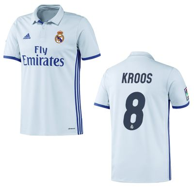 adidas REAL MADRID Trikot Home Kinder 2016 / 2017 - KROOS 8 – Bild 1