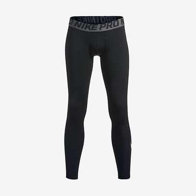 nike COMPRESSION HOSE Kinder schwarz