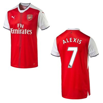 puma FC ARSENAL Trikot Home Kinder 2016 / 2017 - ALEXIS 7