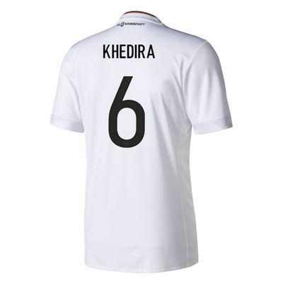 adidas DFB DEUTSCHLAND Trikot Home Kinder Confederations Cup 2017 - KHEDIRA 6 – Bild 2