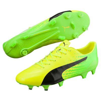 puma evoSPEED 17 SL S FG gelb-grün-schwarz