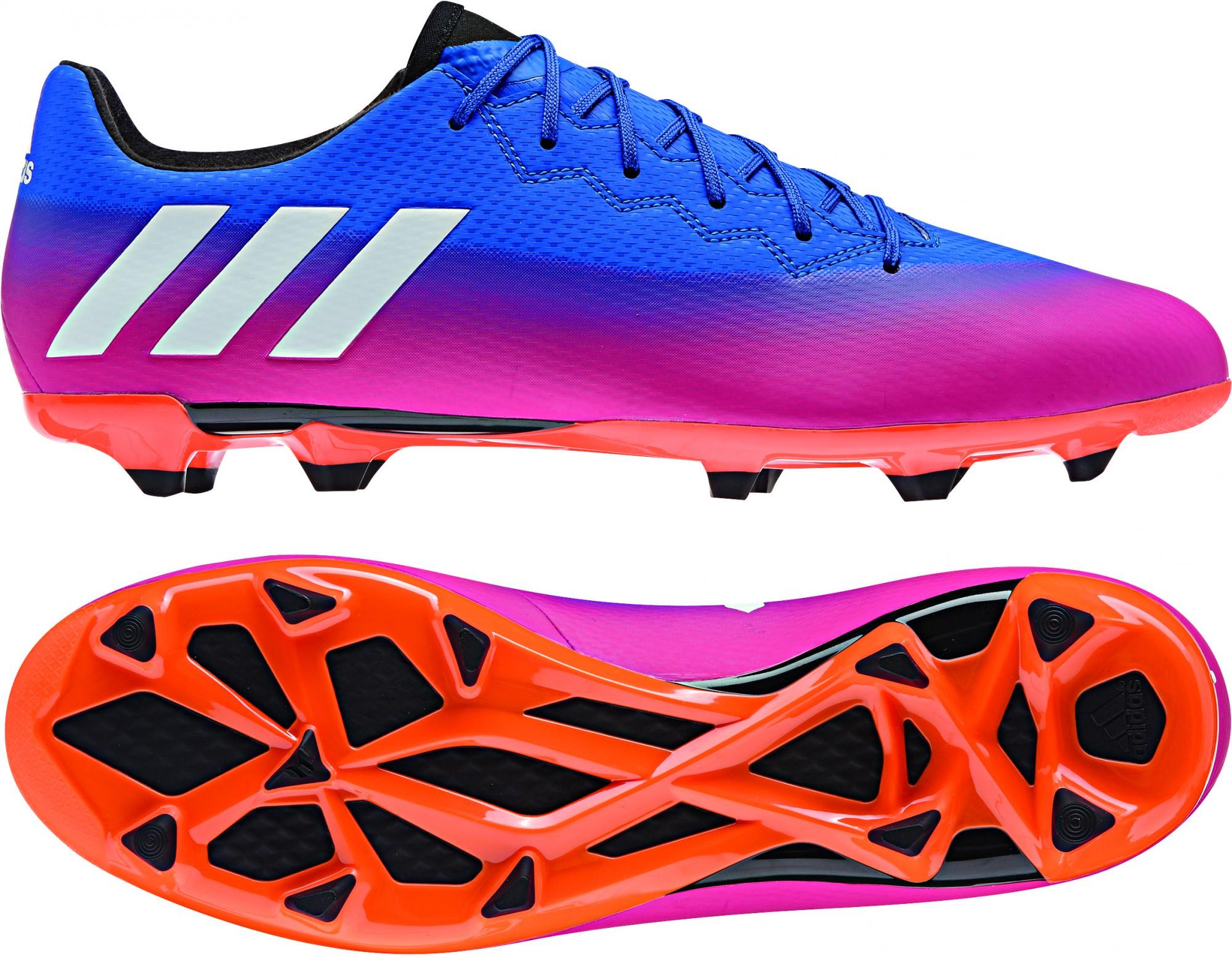 Pink 3 Blau Schuhe Adidas Messi Fussballschuhe Fg 16 If76myvgyb