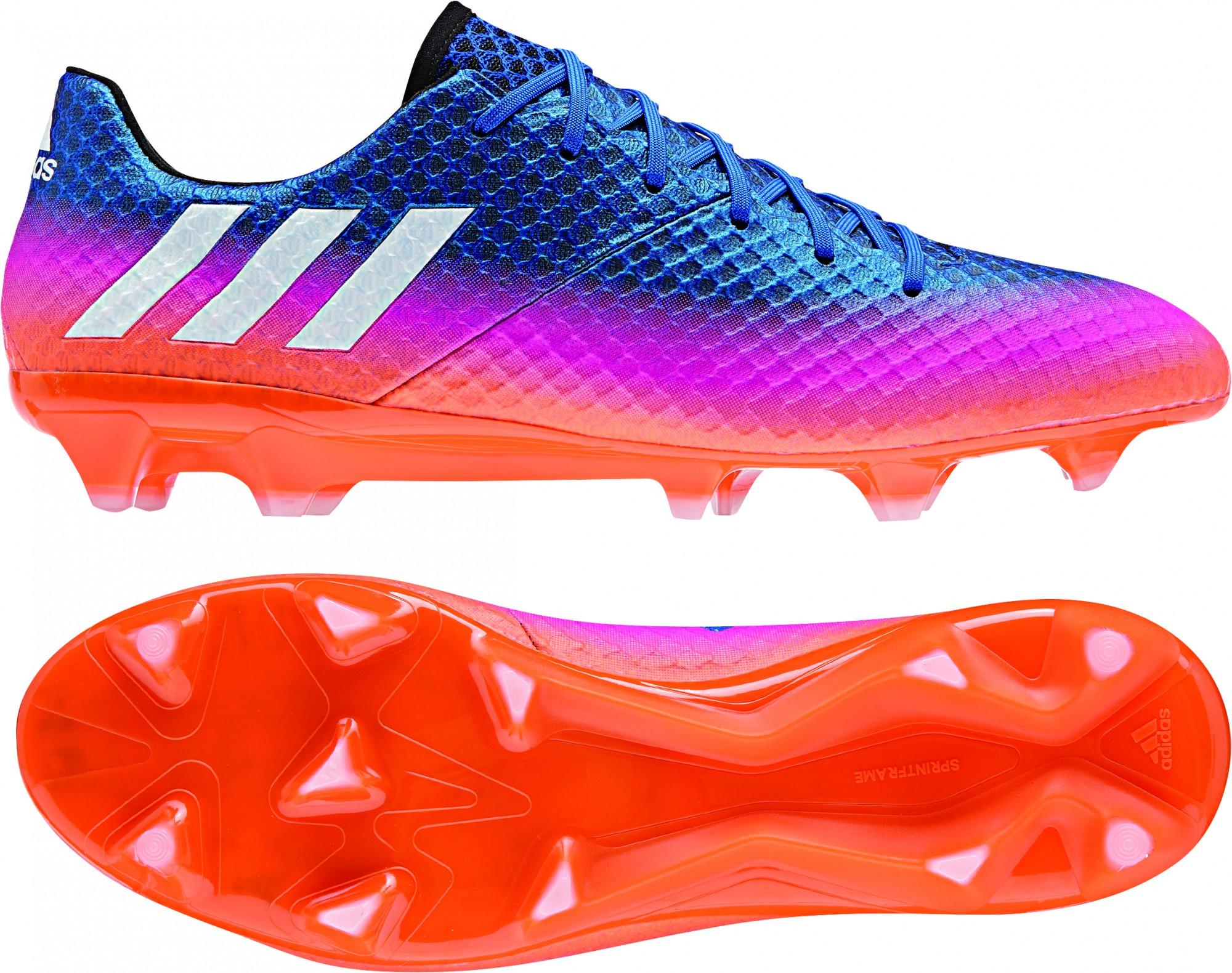 Blau Adidas Fußballschuhe Messi Fg Pink 16 1 Orange Schuhe ...