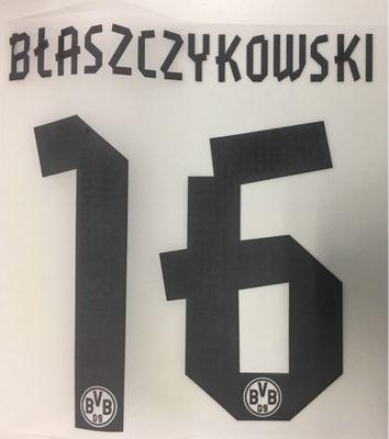 Original BVB Borussia Dortmund Trikot-Flock 17cm - BLASZCZYKOWSKI 16