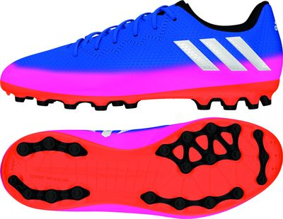 adidas MESSI 16.3 AG Kinder blau-pink-orange